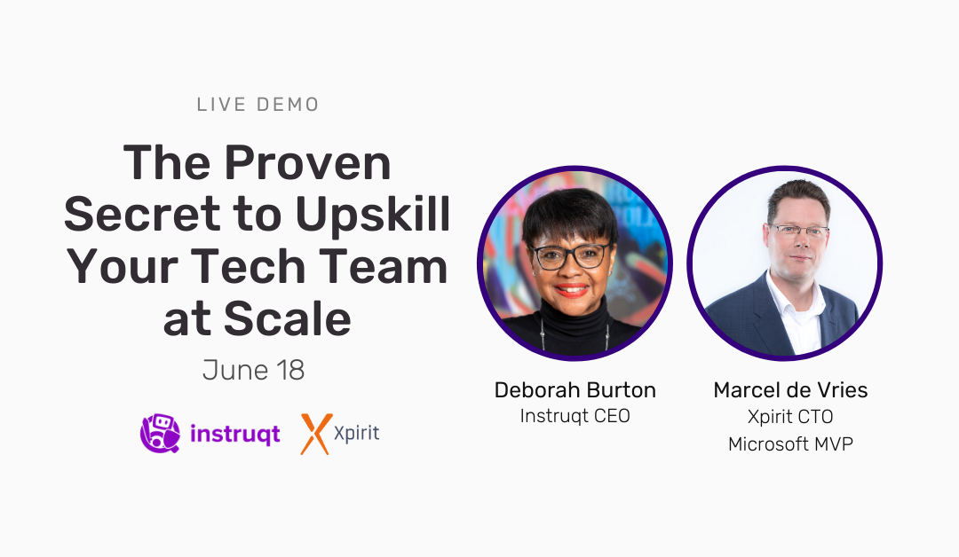 The Proven Secret to Upskill Your Tech Team at Scale (North and Latin America)