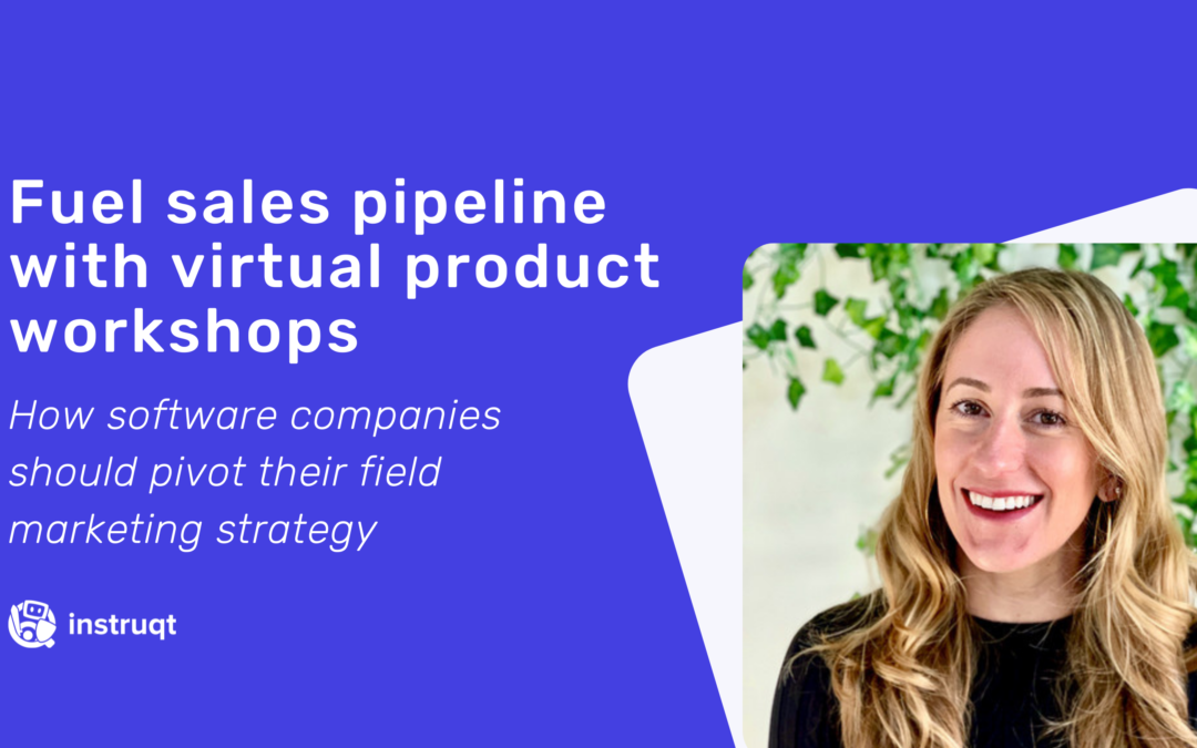 How To Run Virtual Product Workshops that Drive Engagement and Fuel Sales Pipeline